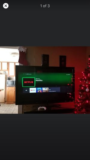 55 inch led tv works great for Sale in West Warwick, RI