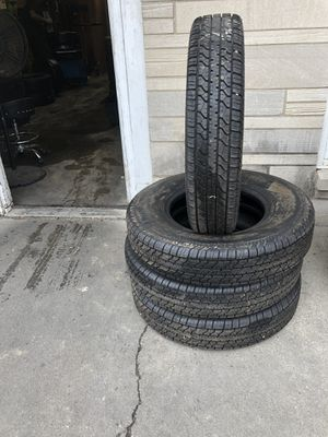 NEW ST225/90R16 CARLISLE TRAILER TIRE SET for Sale in Indianapolis, IN