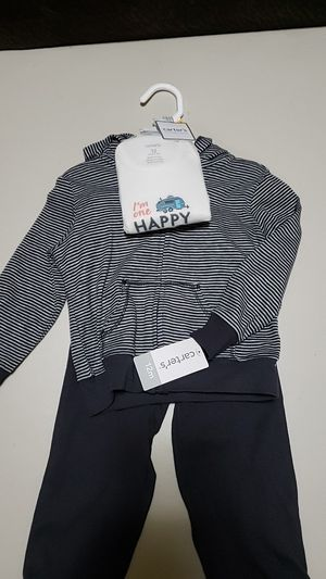 NWT - 12M pants, onesie, hoodie for Sale in Lake Stevens, WA