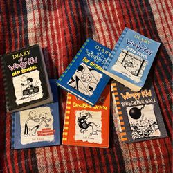Diary Of A Wimpy Kid Books Lot for Sale in Black Hawk,  CO