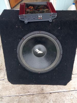 Rockford fosgate the punch 15 inch subwoofer for Sale in Shelton, WA
