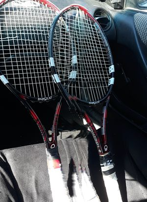 2 Babalot Control Tennis rackets for Sale in West Palm Beach, FL