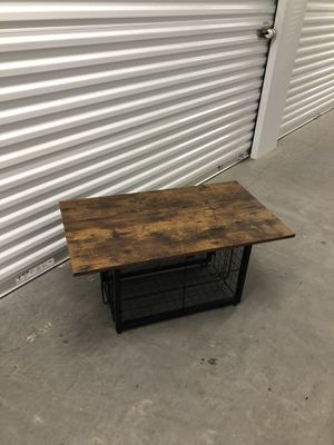 Coffee table 35x19 H17 for Sale in Las Vegas, NV