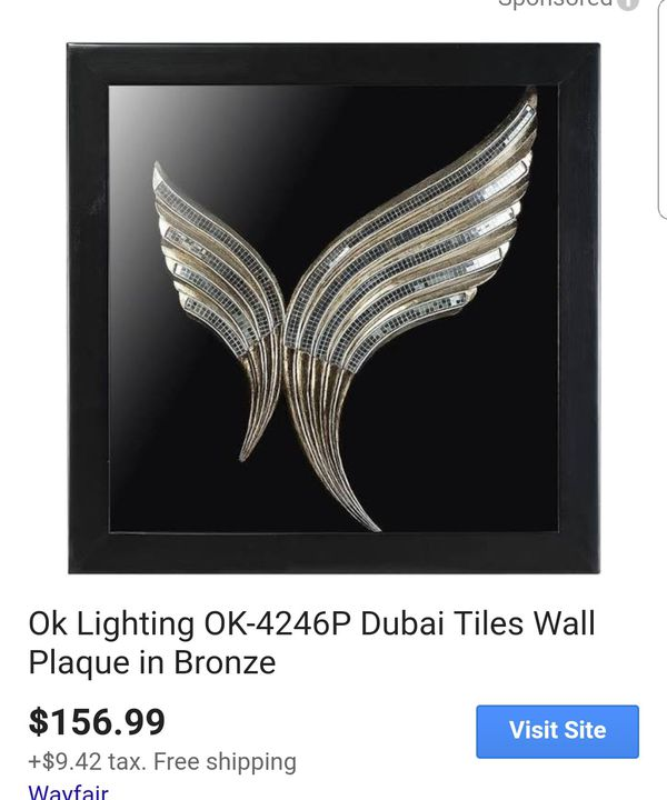 Brand new Wall plaque (unopened box)