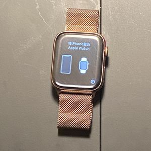 44mm Apple Watch 5 GPS+Cellular- Stainless Steel Gold for Sale in Falls Church, VA