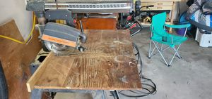 Craftsman radial arm saw for Sale in Birmingham, MI
