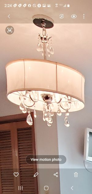 Quality sturdy ceiling Chandelier . for Sale in Tacoma, WA