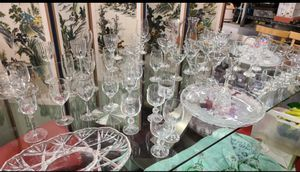 Various wine glasses and glass cup for Sale in Garden Grove, CA