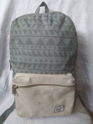 Herschel Backpack Beige Green for Sale in Boston, MA