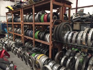 Tons Of Motorcycle Wheels Rims Yamaha Suzuki Kawasaki Honda Harley Davidson Ducati for Sale in Houston, TX