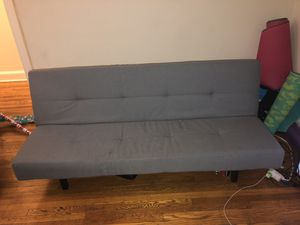 Gray Futon for Sale in Washington, DC