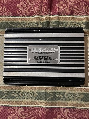 Kenwood - 600-Watt Bridgeable MOSFET Amplifier with Tri-Mode 3-Way Power Distribution for Sale in Mesquite, TX