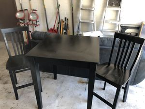 Counter height table and chairs for Sale in Tempe, AZ