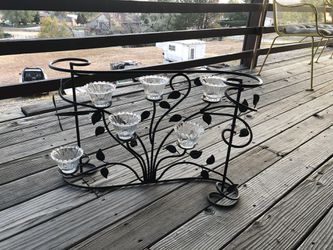 Decorative Metal Candle Holder for Sale in Arvada,  CO