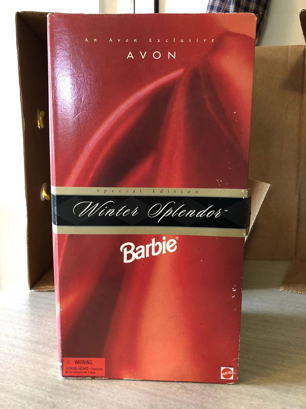 Winter Splendor Barbie (Avon Exclusive)