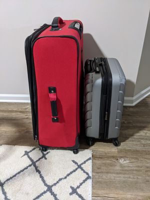 2 Suitcases for 1 Price for Sale in Aurora, IL