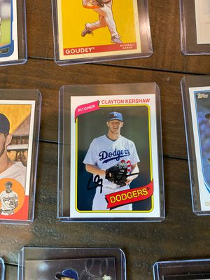 Clayton Kershaw baseball cards for Sale in Wildomar, CA