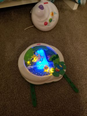 Baby crib soother, crib light,music crib padding for Sale in Manassas, VA