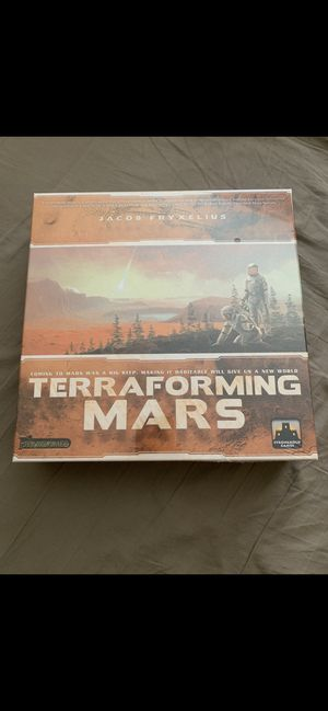 Sealed NEW Terraforming Mars Board Game for Sale in Tustin, CA