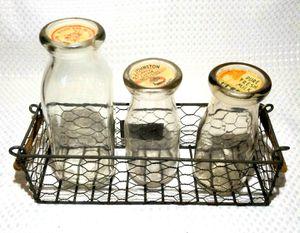 Antique glass milk bottles for Sale in Hemet, CA