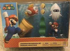 World of Nintendo Underwater Diorama Playset for Sale in Newton, KS