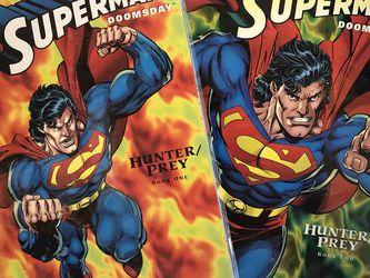 "Superman ""Doomsday"" Book 1 & 2 for Sale in South El Monte,  CA"