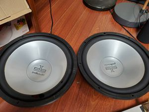 POLK AUDIO 12 INCH SUBWOOFERS for Sale in Bloomingdale, IL