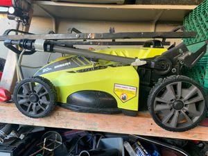 Ryobi cordless lawn mower 40v brushless motor for Sale in Sacramento, CA