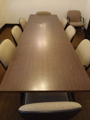 Conference table with 10 chairs for Sale in Visalia, CA
