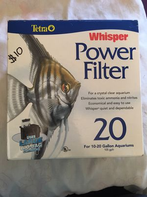 Aquarium filter for Sale in Gilroy, CA