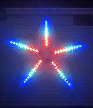 Christmas STAR LED Decoration, Today special Price 2 for ONLY $35.00 for Sale in West Palm Beach, FL