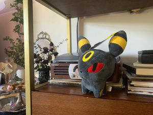 Umbreon Pokémon plushie tag still on. anime for Sale in Dumfries, VA