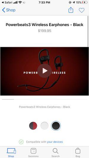 Powerbeats3 Wireless Earphones for Sale in Forestville, MD