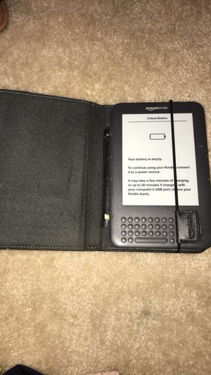 Amazon Kindle (charger needed) for Sale in Fort Meade, MD