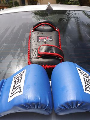 Boxing Gloves and UFC Punching Hand-Pad for Sale in Kissimmee, FL