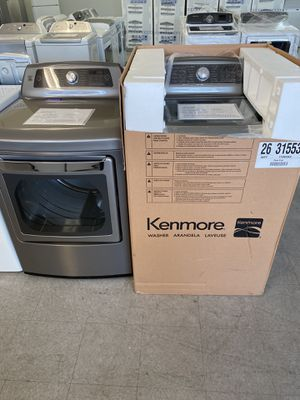Kenmore Elite top load washer & electric dryer set New for Sale in Fresno, CA