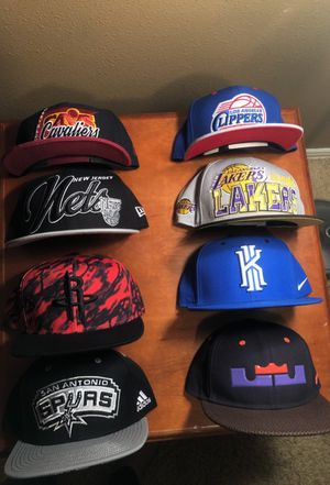 NBA hats all brand new for Sale in Spring, TX