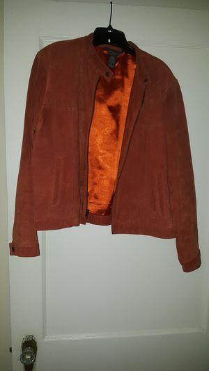 Van Heusen, Womens Size L, 100% suede, burnt orange for Sale in Springfield, MO