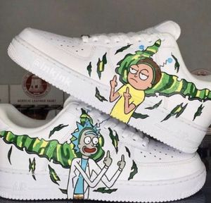 Customized rick and morty shoes for Sale in Orlando, FL