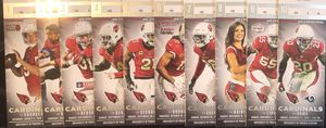 ARIZONA CARDINALS 3RD ROW VISITOR SIDE 5 YD LINE AISLE TICKETS EVERY HOME GAME for Sale in Tempe, AZ