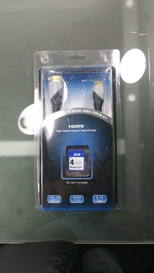 Professional HD digital video camera kit