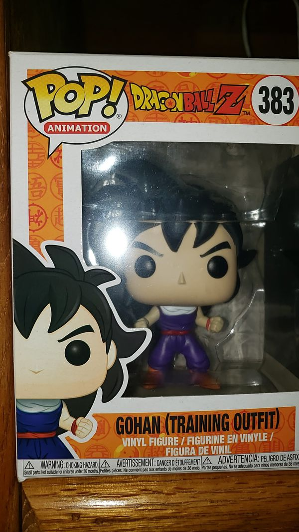 Dragon ball z Gohan pop figure