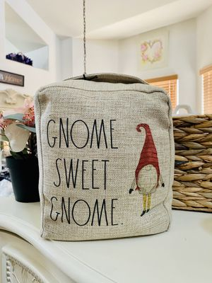 Rae Dunn GNOME SWEET GNOME door stopper for Sale in Palmdale, CA