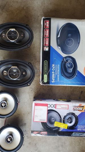 Car sound system Bundle for Sale in Phillips Ranch, CA