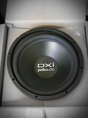 """I have a dxi l24 svc polk audio 12"""" subwoffer in great condition for Sale in The Bronx, NY"""