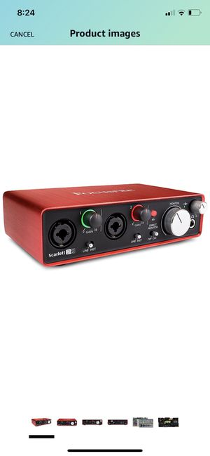 Focusrite Scarlett 2i2 (2nd Gen) USB Audio Interface with Pro for Sale in Lake Worth, FL
