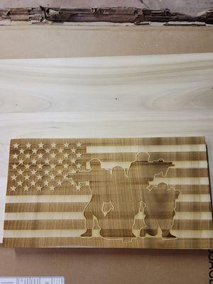 American flag solder sign for Sale in US