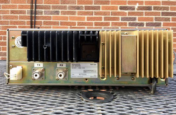 Kenwood TKR-820 UHF repeater