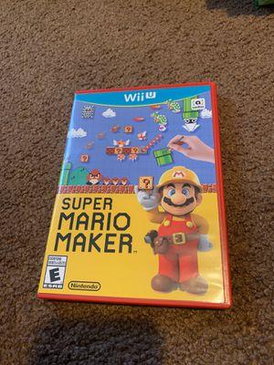 Super Mario Maker Wiiu for Sale in Los Angeles, CA