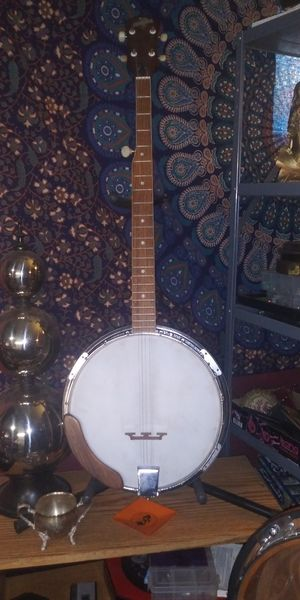 Banjo with stand for Sale in Spokane, WA